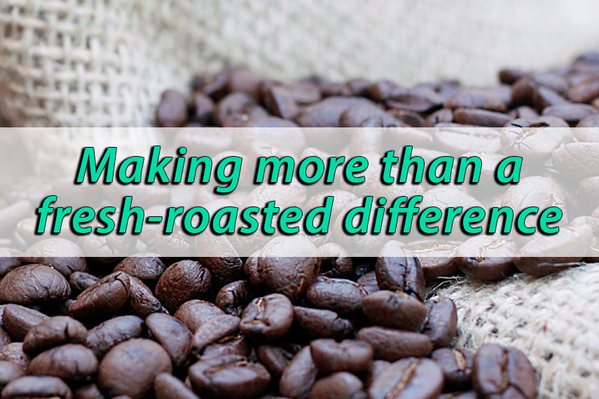 Freshly Roasted Coffees that benefit good causes