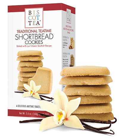 Traditional Teatime Vanilla Shortbread